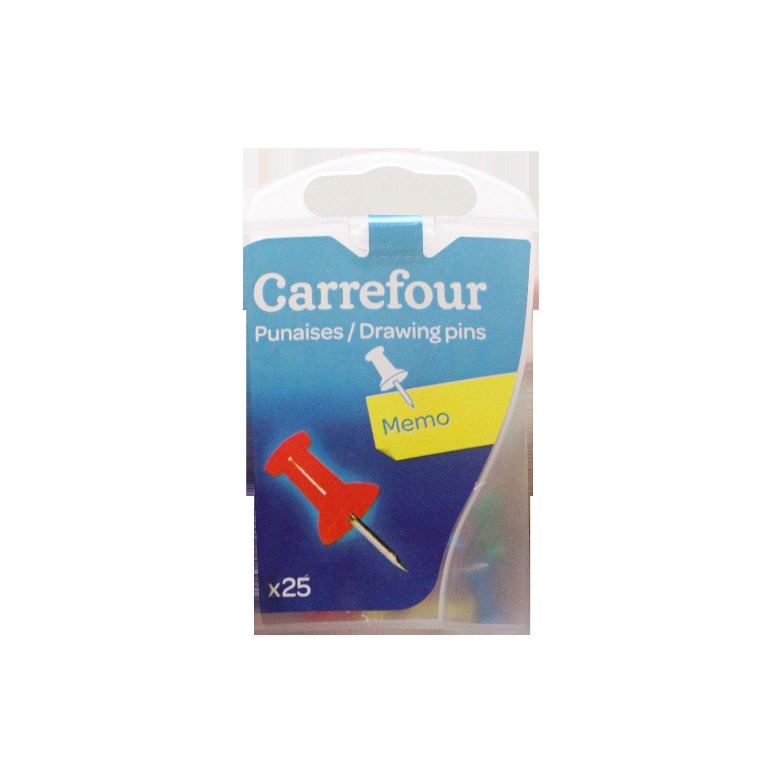 Punaises Multicolores 10mm Carrefour