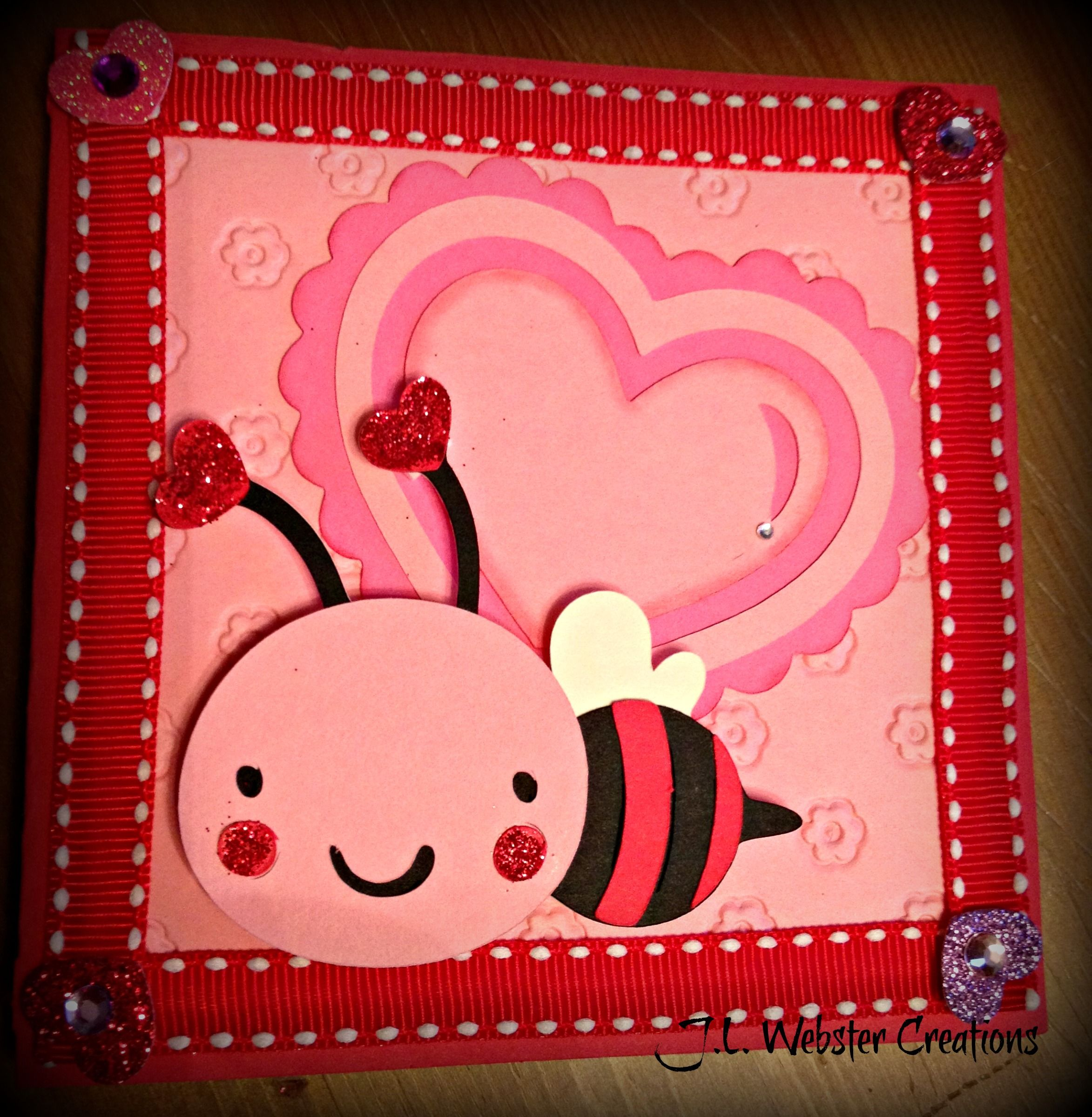 Love Bug Valentines Day Card