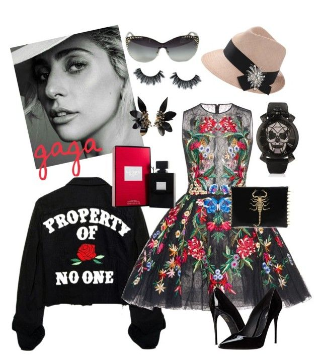 """""""Fat...my eye"""" by queenie-de-angelis ❤ liked on Polyvore featuring Zuhair Murad, Brunello Cucinelli, Marni, Dolce&Gabbana, GaGà Milano and Versace"""