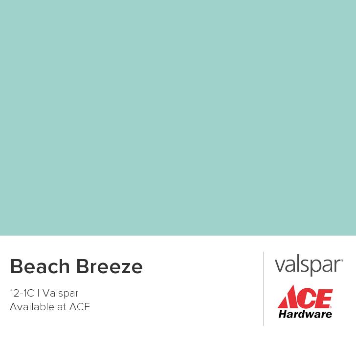 Beach Breeze From Valspar Color Chip Valspar Paint