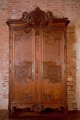 armoire normande cauchoise mus e de martainville normandie france mobilier la ville. Black Bedroom Furniture Sets. Home Design Ideas