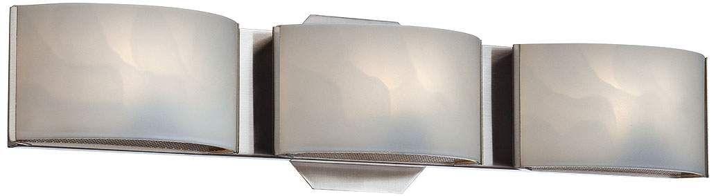 Photo of Eurofase Dakota 20 Inch Wide Chrome 3 Light Led Bath Light