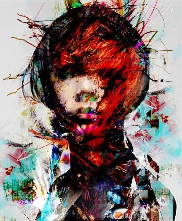 "Saatchi Art Artist yossi kotler; Painting, ""point of viiew"" #art"