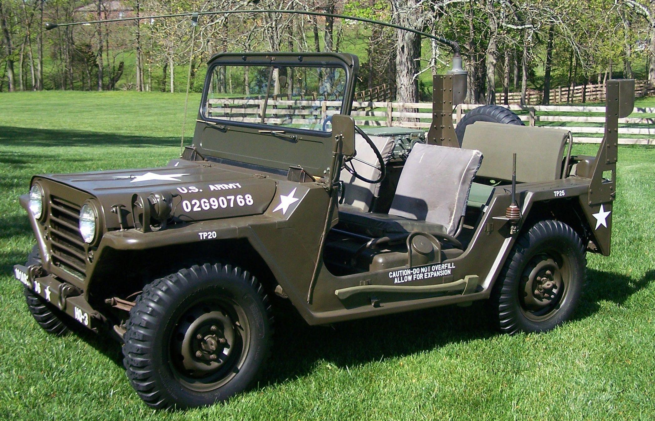 Army Jeep Jeep CJ2 M38 Pinterest