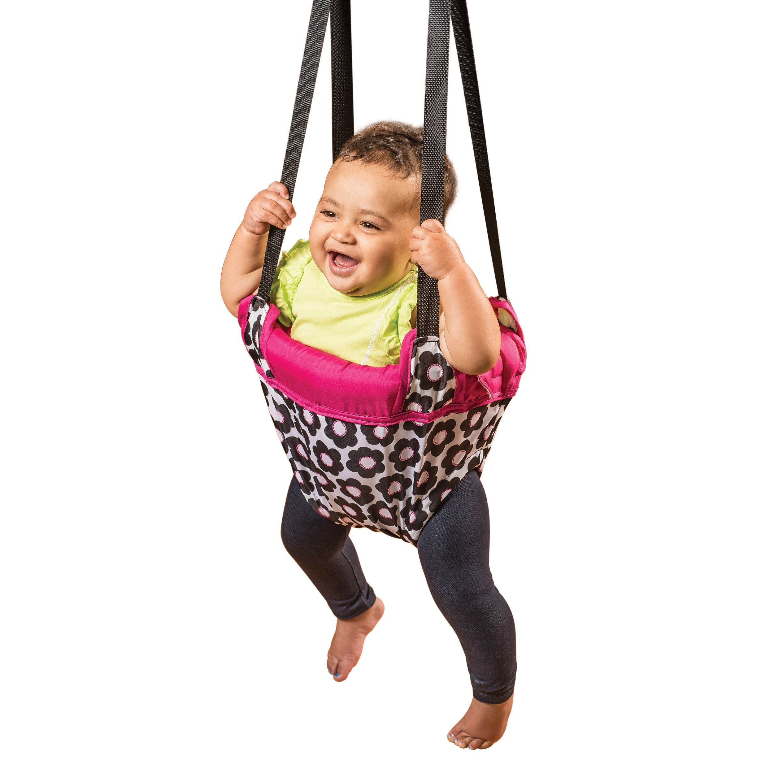 60f48b0262c7 Entertainment and Exercise for Baby This doorway jumper stimulates ...