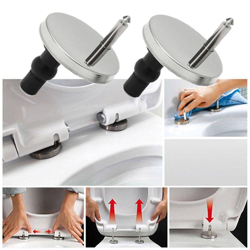 Awesome 4 68 2Pcs Replace Toilet Seat Hinges Mounting Set Hinge Inzonedesignstudio Interior Chair Design Inzonedesignstudiocom
