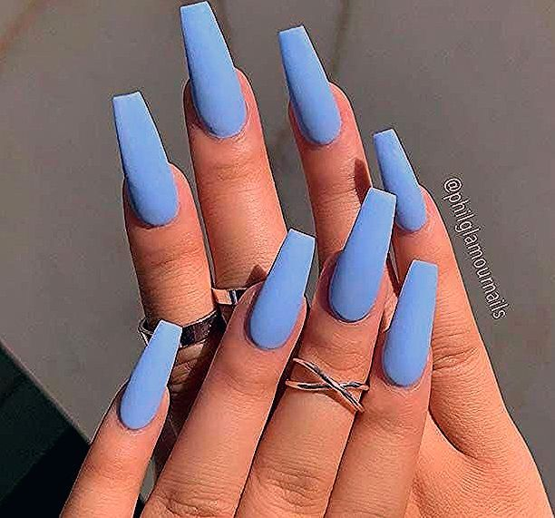 Photo of 23 Stunning Ways to Wear Baby Blue Nails | StayGlam