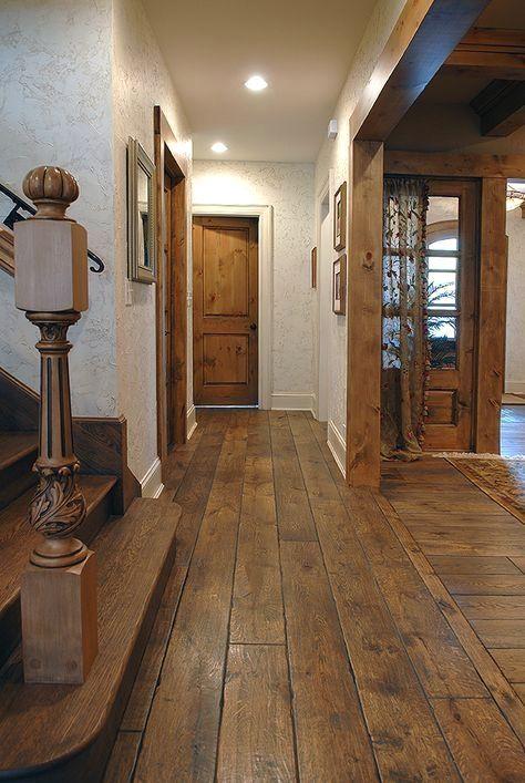 7 1 4 Wide Plank Solid Vintage Grade French Oak Hardwood Floor Custom Gray Color Hand Scraped Han Wood Floors Wide Plank Rustic House Oak Hardwood Flooring