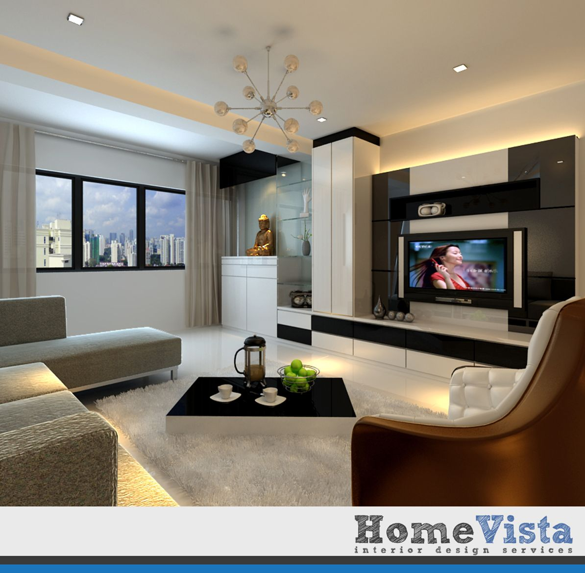 living room tv console design singapore s wall decal. Black Bedroom Furniture Sets. Home Design Ideas