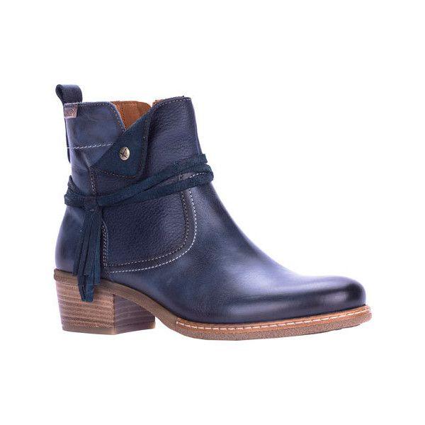 Women's Pikolinos Zaragoza Ankle Boot W9H-8800 - Ocean Leather Ankle... (.  Leather Ankle BootsShoes ...