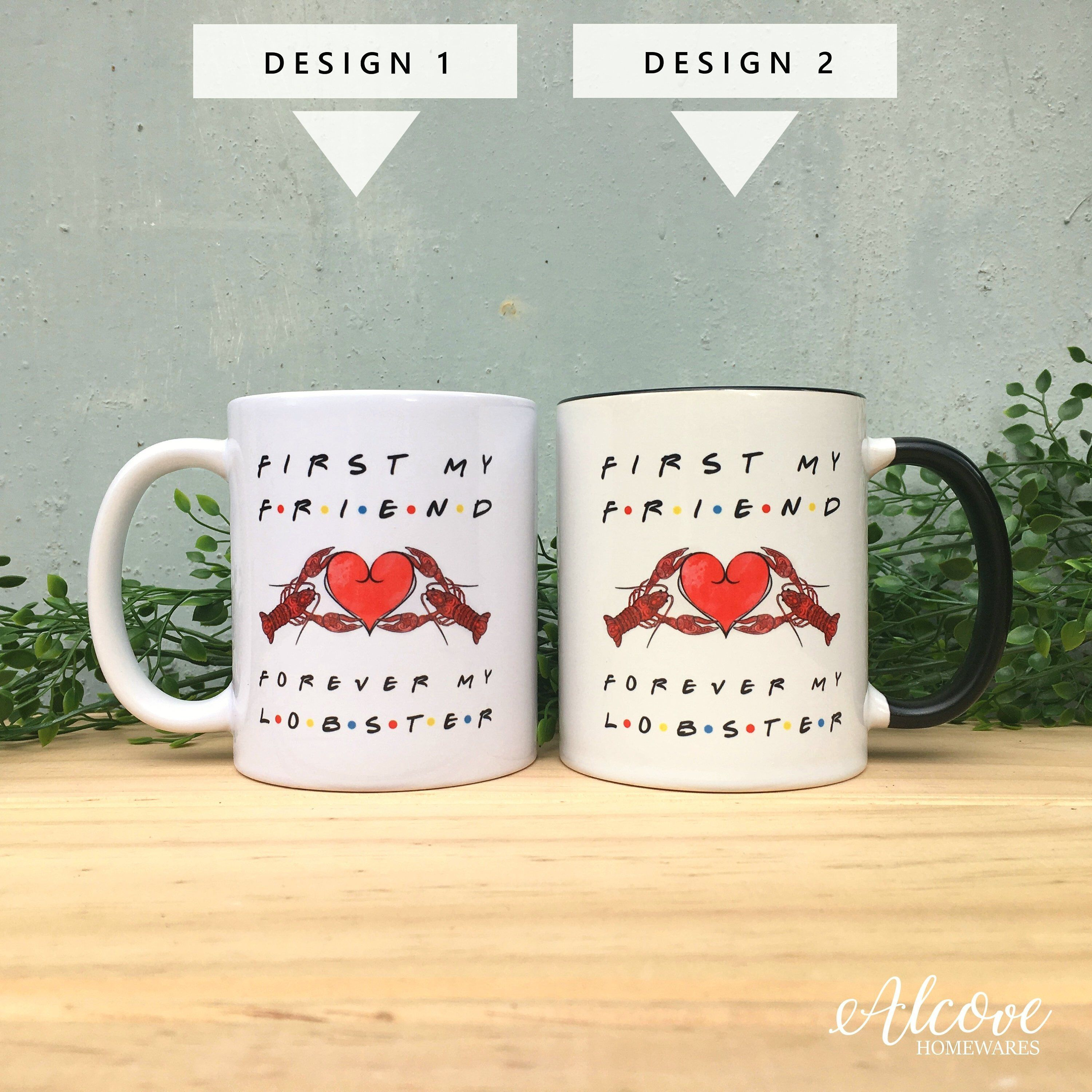 Friends tv show mug anniversary gift youre my lobster
