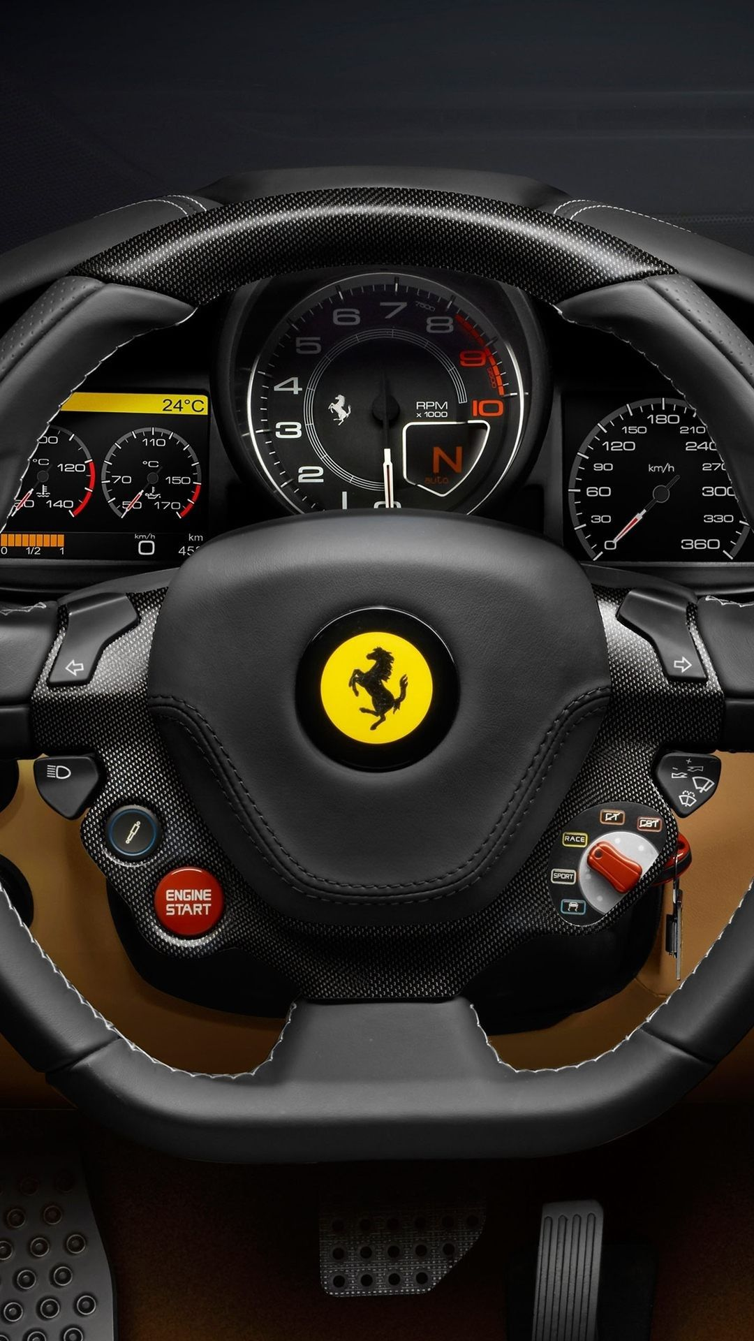 Ferrari IPhone Wallpapers