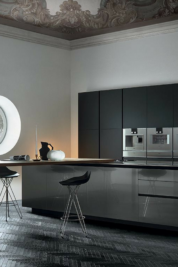 hochglanzk che vorteile und nachteile einer gl nzenden k che k che mit hochglanz fronten. Black Bedroom Furniture Sets. Home Design Ideas