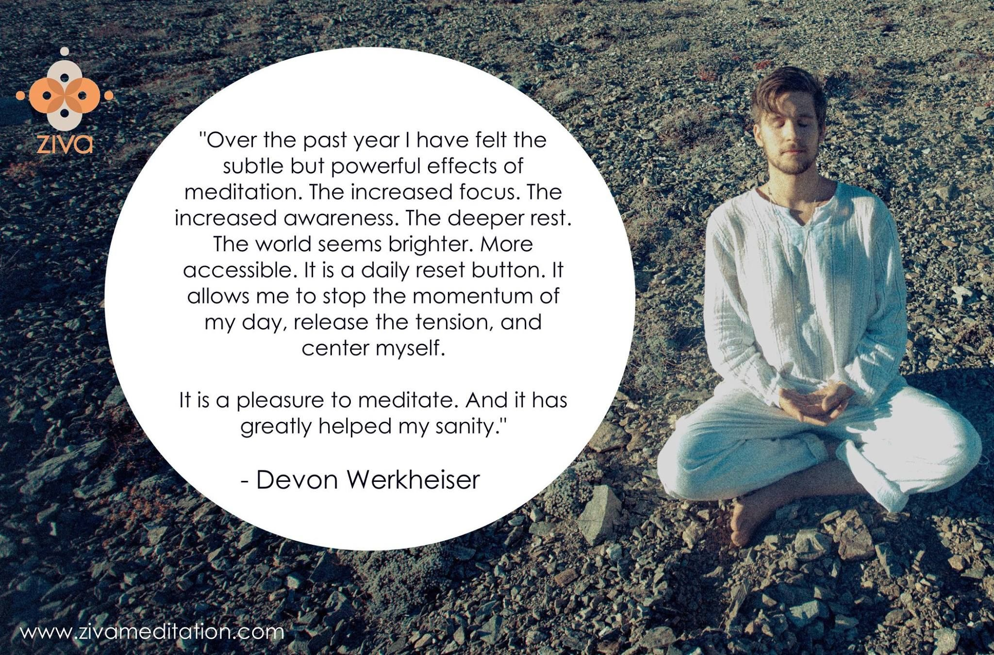 Check it out y'all! zivaFAMILY member Devon Werkheiser just released a beautiful new EP. Bravo for leading with creation, friend!