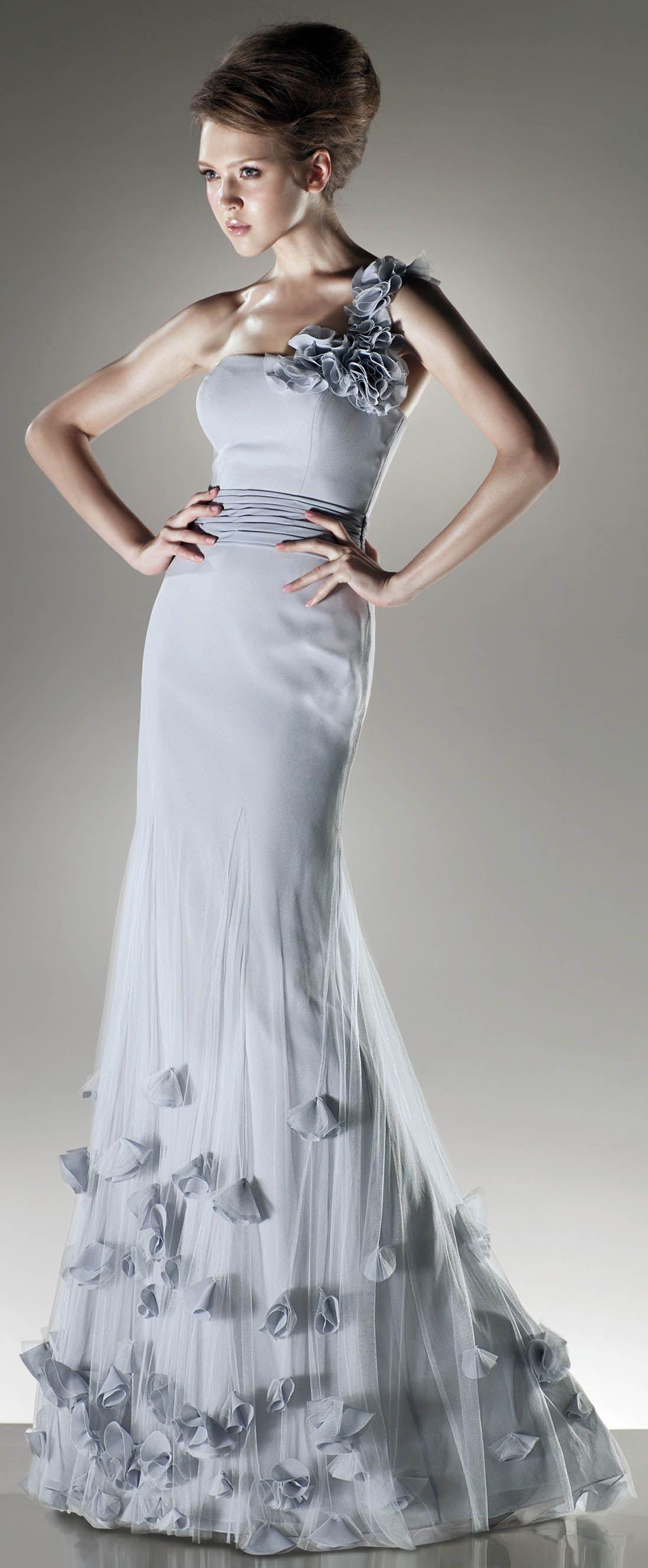 Beautyful one shoulder trumpet dress,$9.9  Vestidos de fiesta