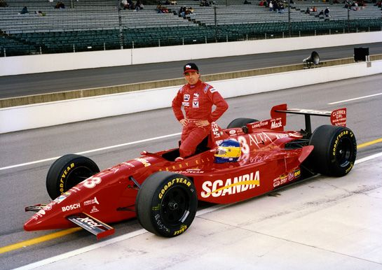 Michele Alboreto 1996 Team Scandia