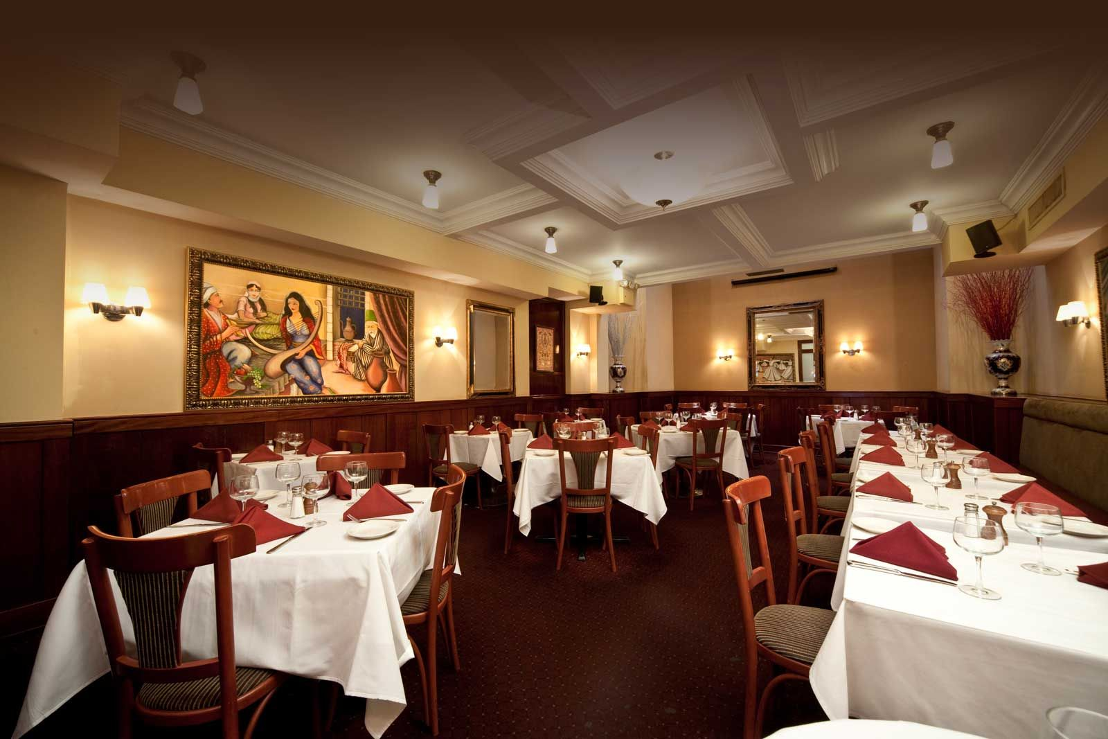 Dervish Mediterranean Restaurant Near Time Square Nyc 2 For 1 Martinis Right The Diamond District
