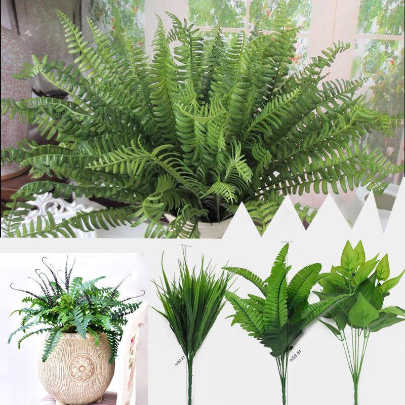 Plants Indoor Outdoor Fake Flower Leaf Foliage Bush Home Office Garden Decor