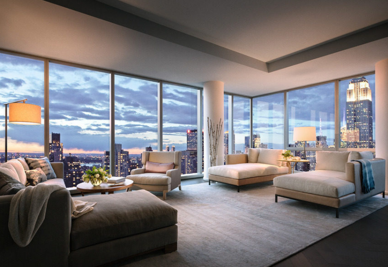 Inside Gisele Bundchen And Tom Brady S New Nyc High Rise Keeps The Rain Off Your Head Pent House York Apartments Condos