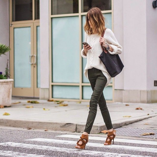 Dressing up a casual outfit with fun heels on littleblondebook.com today! Outfit details on t... @liketoknow.it www.liketk.it/NJUY #liketkit