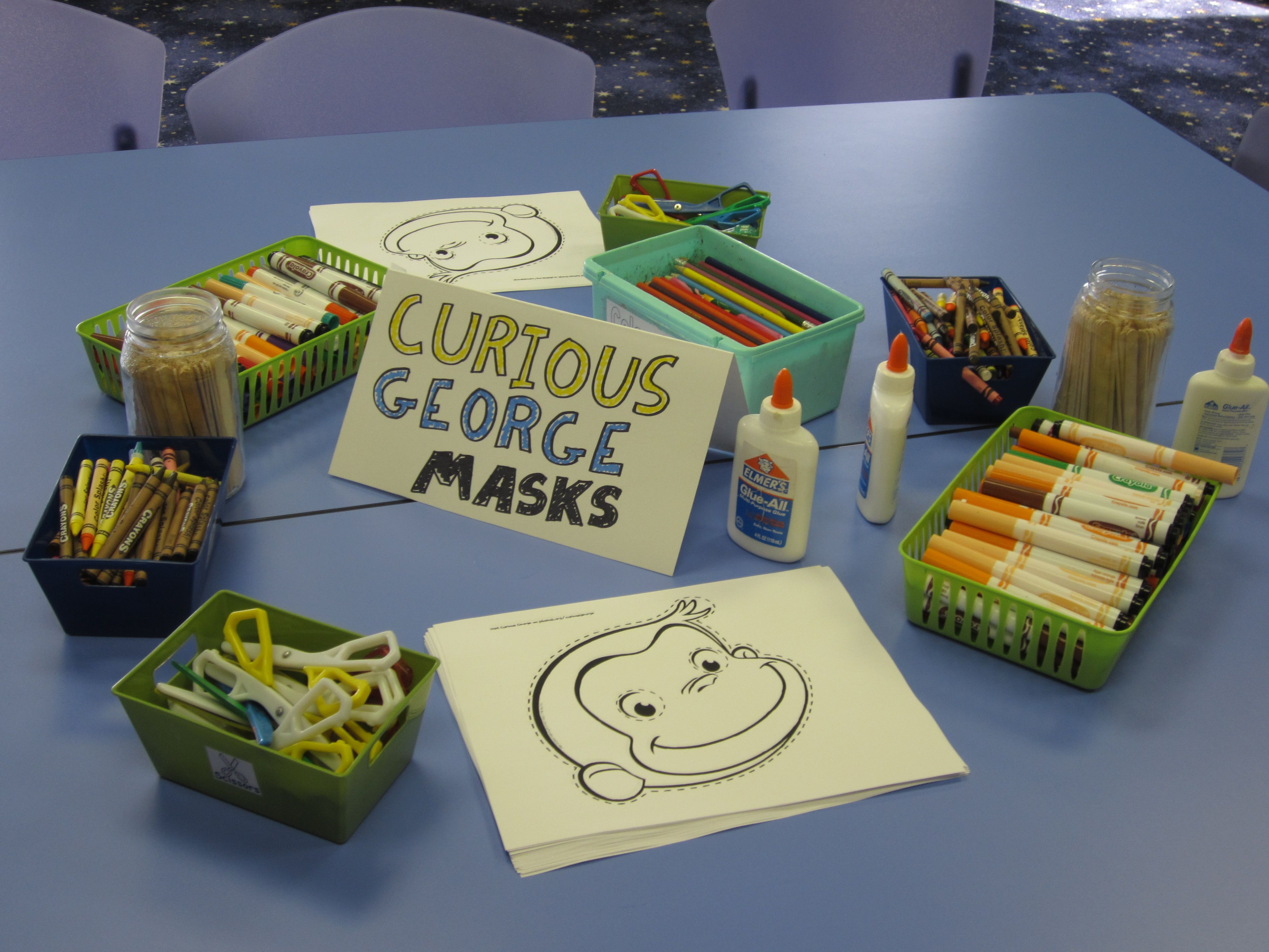 curious george birthday party games Google Search