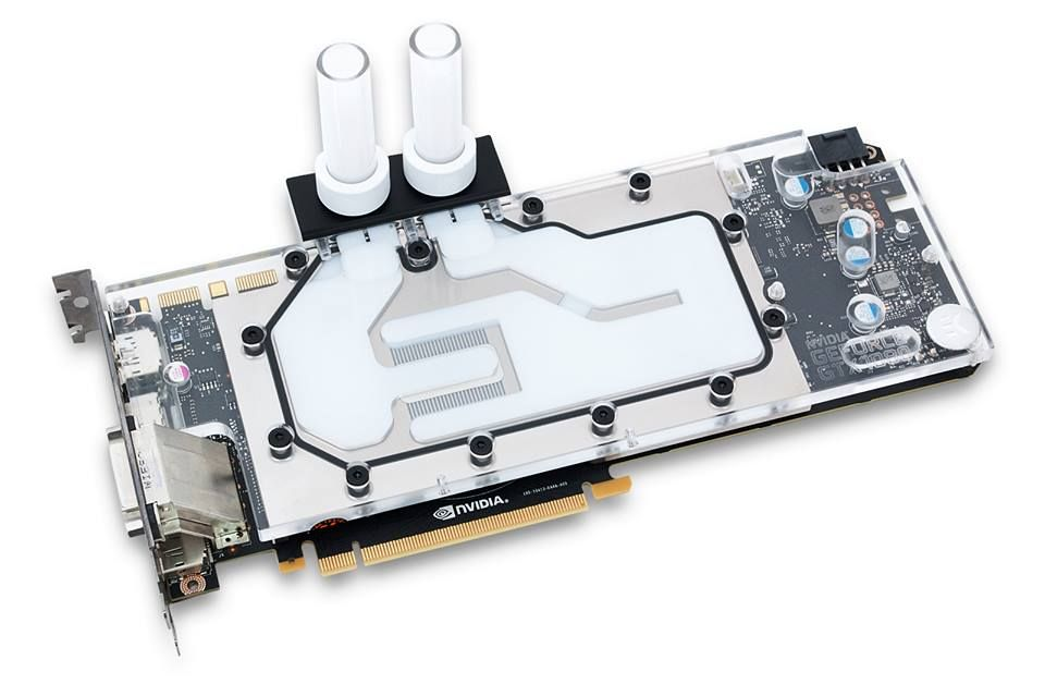 EK reveal their upcoming GTX 1080 water block, which they