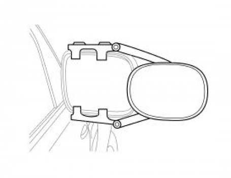 Extend Your Rear View Mirrors For Towing With These Easily Installed