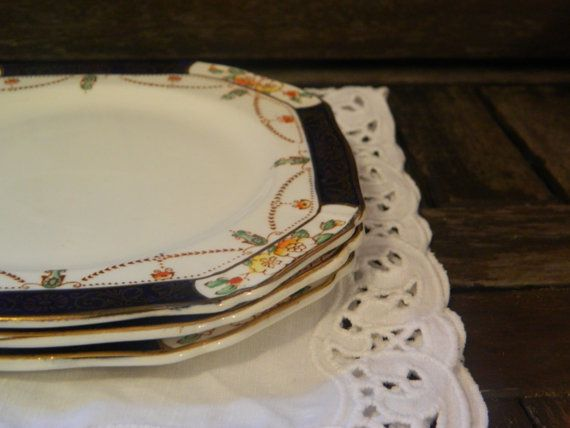 Antique Alfred Meakin Harmony Solway  22 KT by ForeverTeaVintage