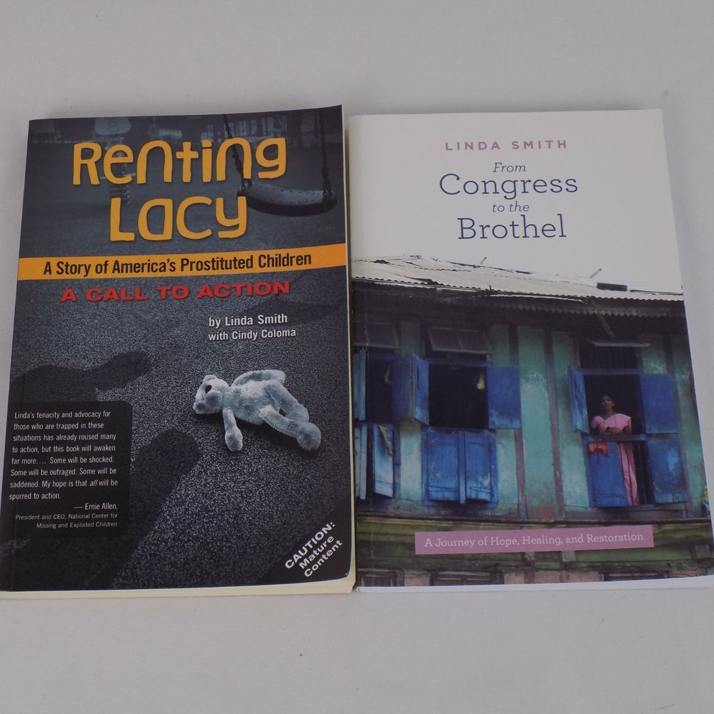 Lot of 2 Linda Smith From Congress to Brothel Renting Lacy