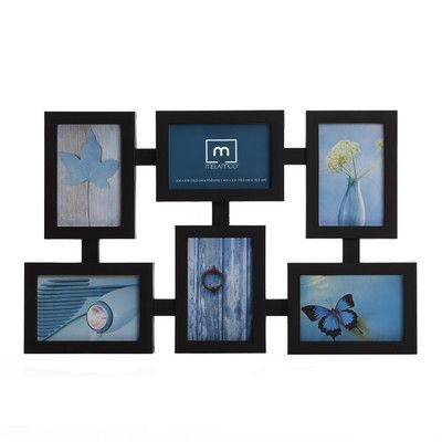 picture collage frames   Melannco 6 Opening Totem Collage Picture ...