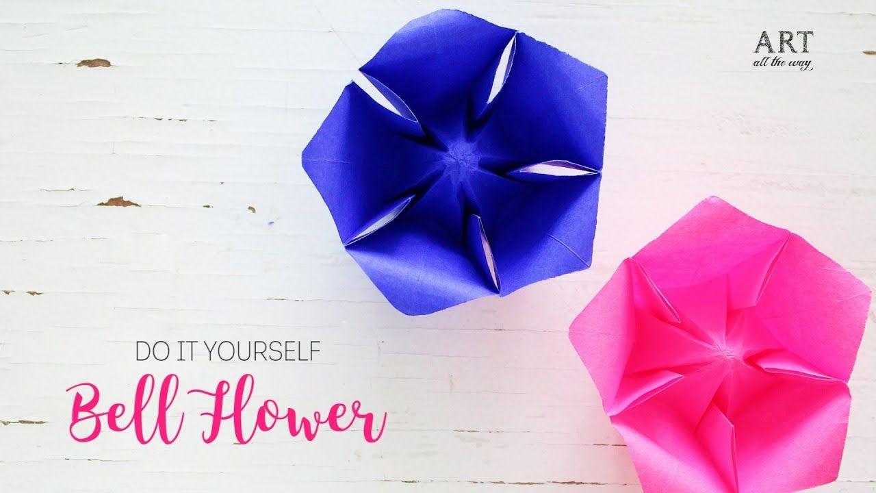 Crafts Origami Bellflower Bellflower Origami Crafty Things Origami