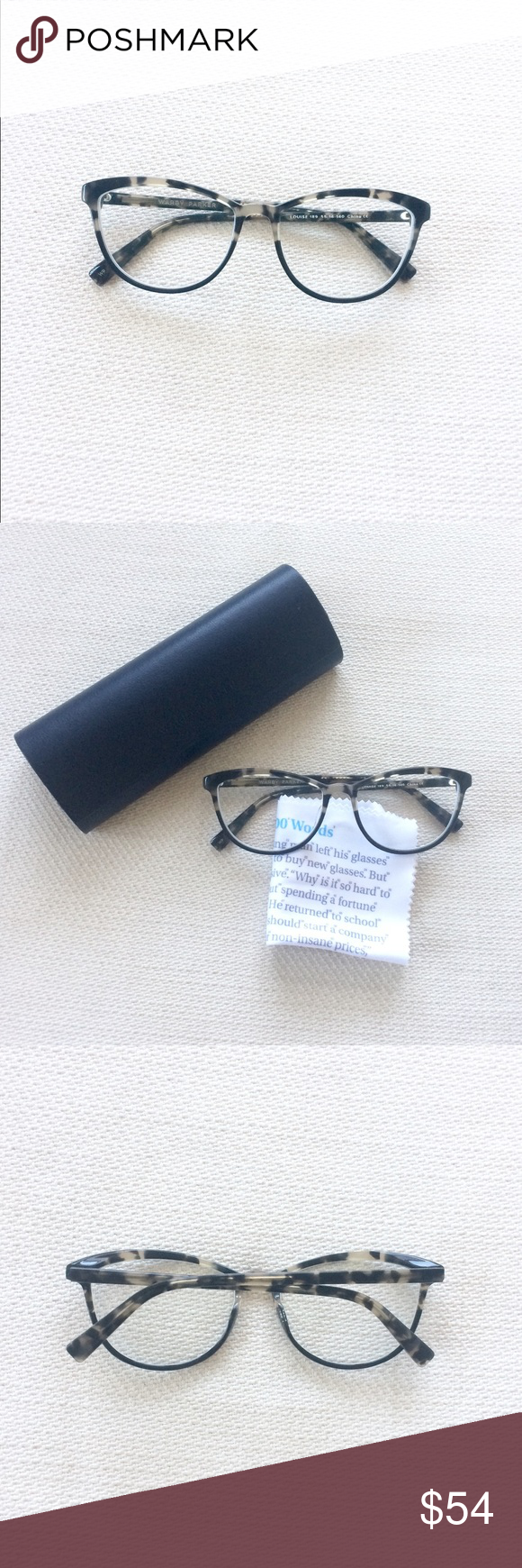 WARBY PARKER Louise Tortoise Cat Eye Glasses Frame in 2018   My Posh ...