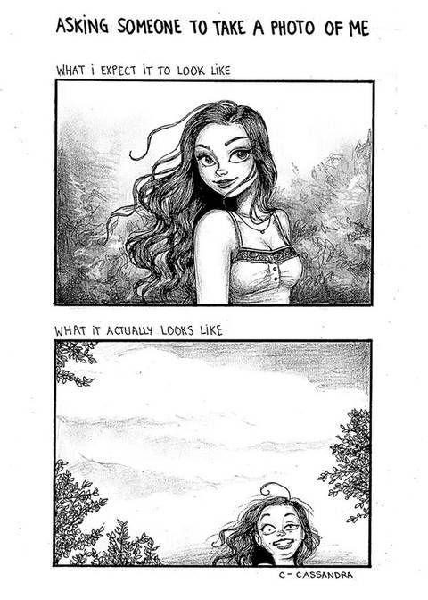 Selfies & Smokey Eyes: Diese Cartoons zeigen den Alltags-Wahnsinn, den jede Frau kennt #comicsandcartoons