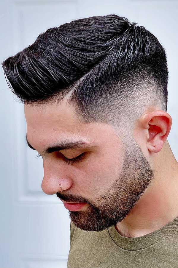 Every Question You Might Want To Ask About A Beard Fade