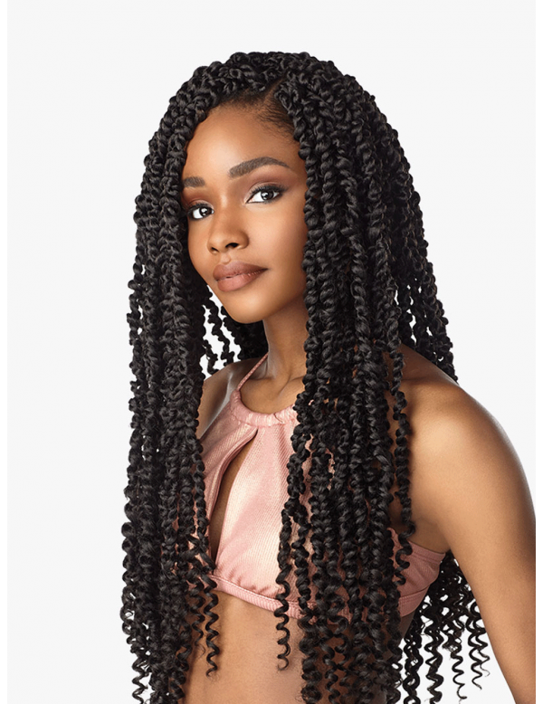 Sensationnel Lulutress Pre-Looped Crochet Braid Passion Twist 24 #passiontwistshairstylelong