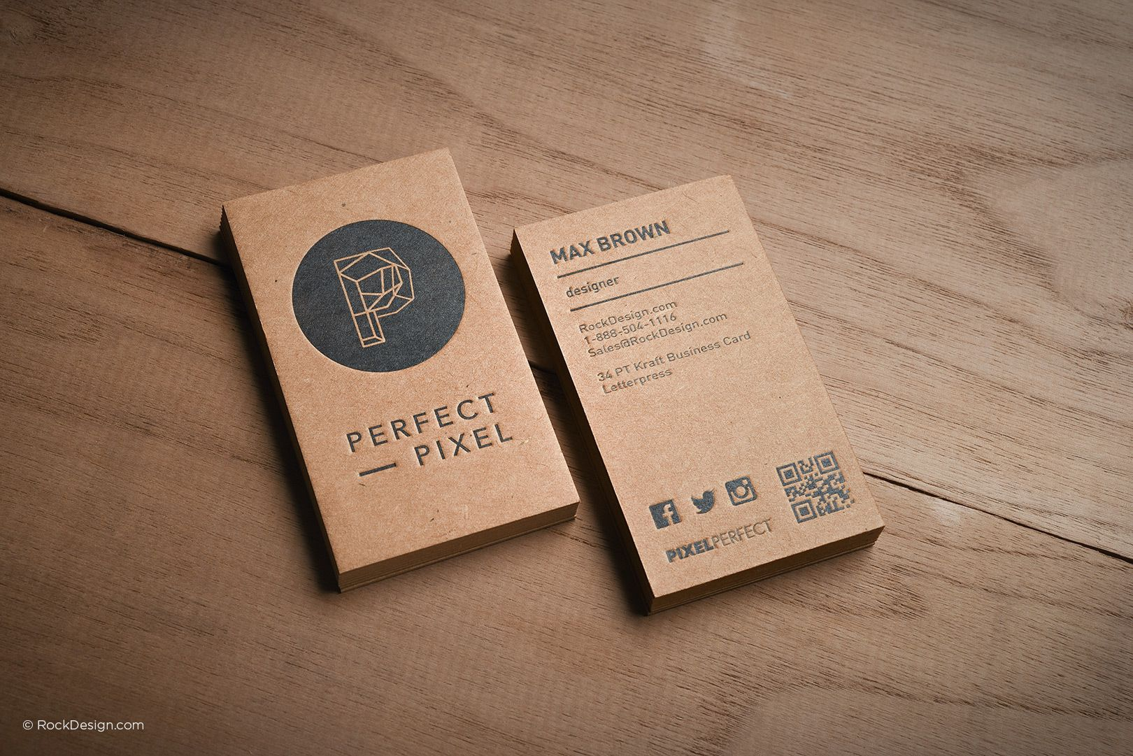 Brown Kraft Business Cards 30 | Крафт | Pinterest | Business cards ...