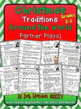 Christmas Partner Plays 2nd And 3rd Grade Best Of Second Grade