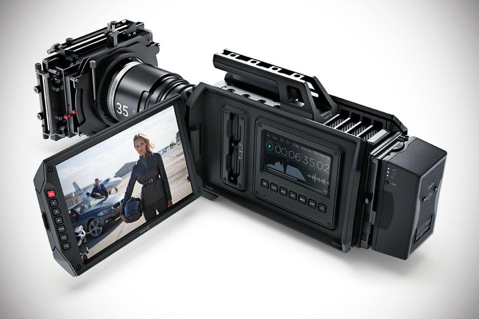 Blackmagic URSA 4K Digital Film Camera - camcorder pro-grade