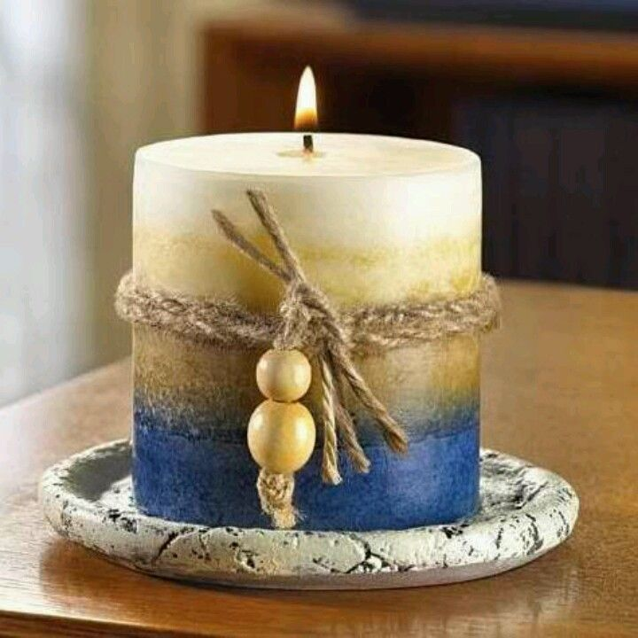 Sand ocean scent round pillar candle find it at shopwiki