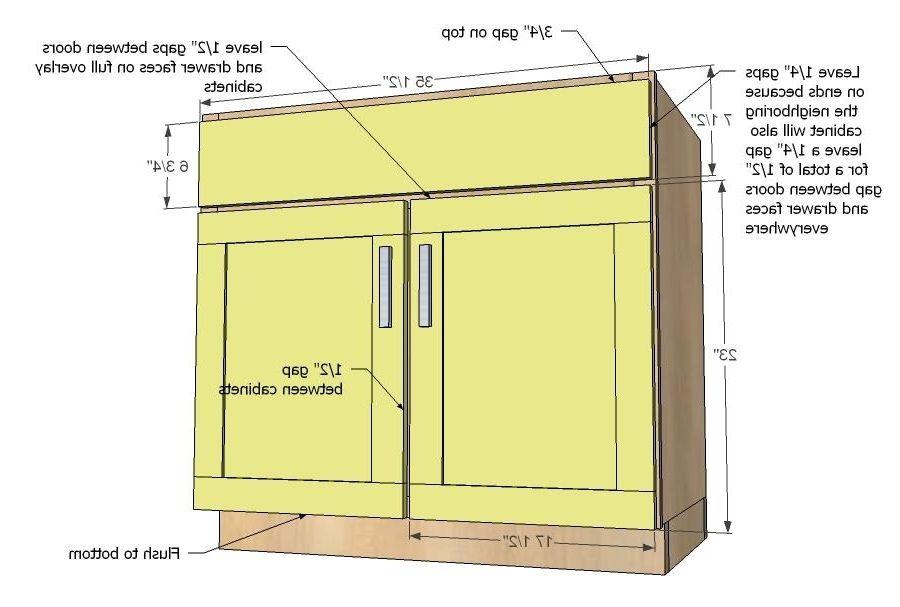 Kitchen Sink Base Cabinet Widths | Kitchen cabinet sizes ...
