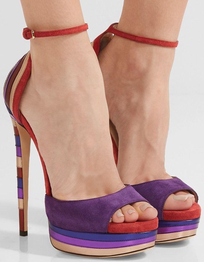 Jimmy Choo Max Suede Platform Sandals Jimmy Choo Heels Heels Summer Shoes Trends