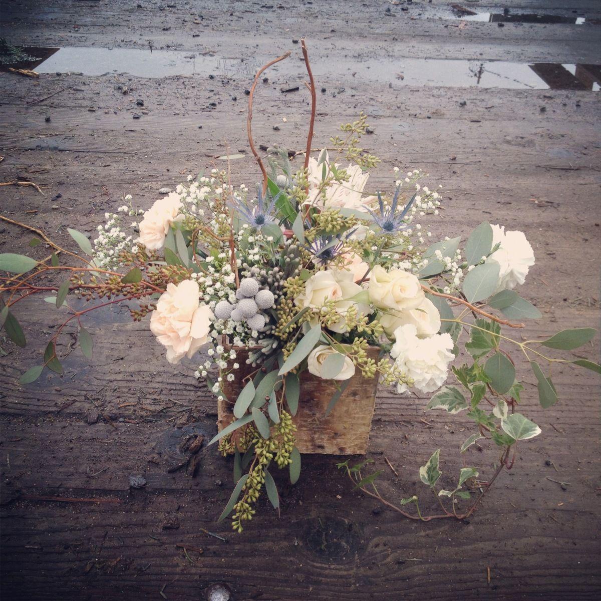Woodsy Wedding Ideas: That Time Events - Flower Arrangements