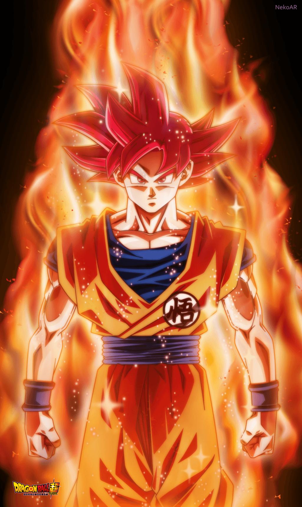 1024x1720 Super Saiyan God Poster By Nekoar On Deviantart Anime Dragon Ball Super Dragon Ball Goku Dragon Ball Super Goku