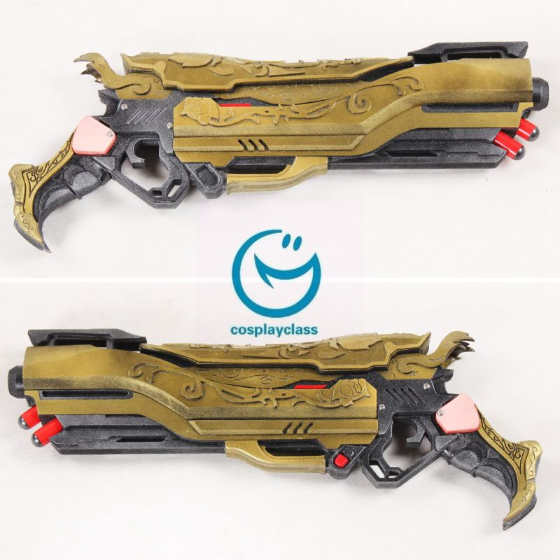 Ow Widowmaker Winter Wonderland Gun Weapon Cosplay Prop Sufficient Supply Costumes & Accessories