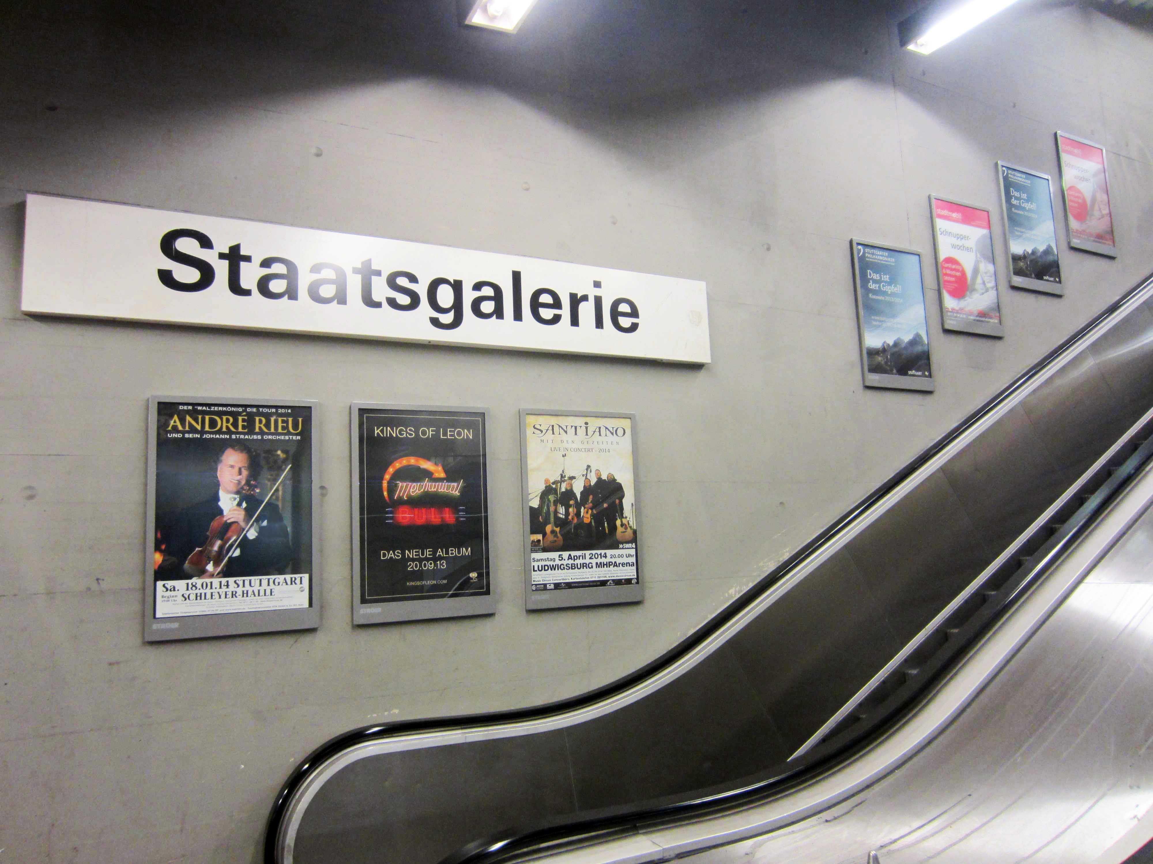 neuer #A1 Rahmen, U-Bahnhof Stuttgart   Kulturmedien   Pinterest ...
