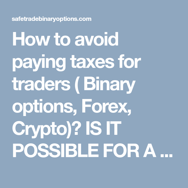 avoid tax cryptocurrency