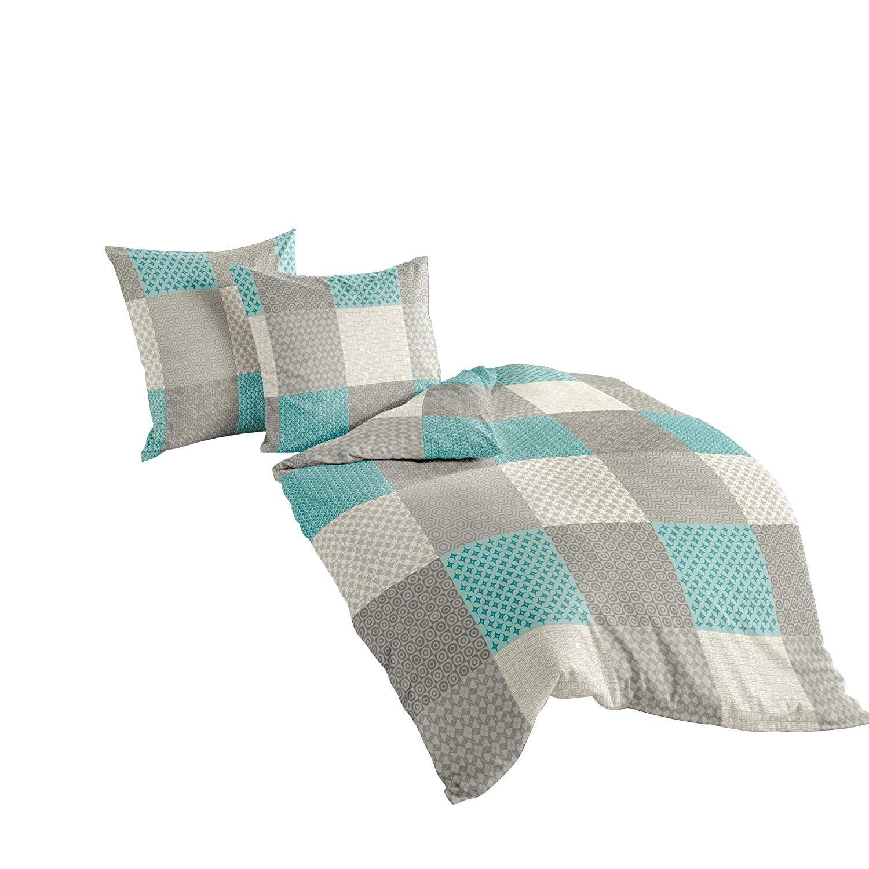Bierbaum 6277_04 Soft Flannelette Bed Linen, Mocha, Beaver