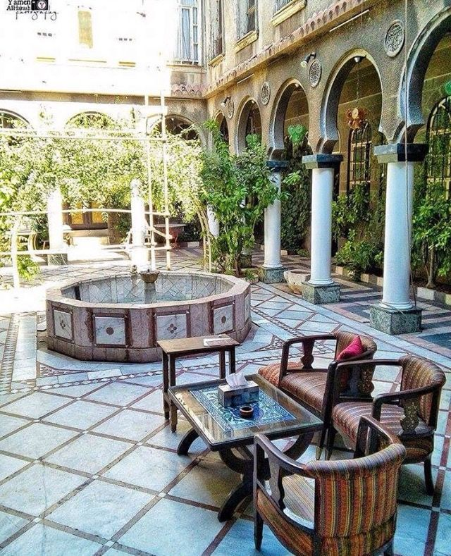 Syrian Old House Islamic Architecture Cool House Designs