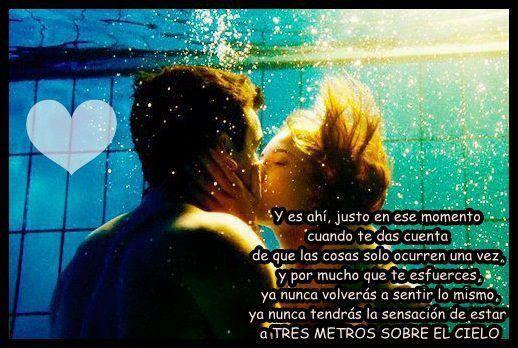 Tres Metros Sobre El Cielo Frases De Amor De Disney Frases De 3msc Frases Cielo
