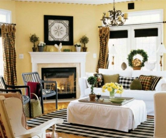 Country Living Room Designs Delectable Country Living Room Colors  For The Home  Pinterest  Country 2018
